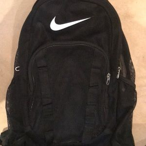 Nike Mesh Backpack. Hardly Used Great Condition